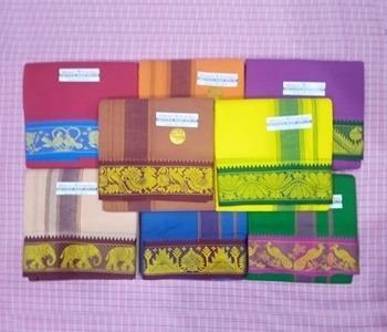 Colour Dhotis