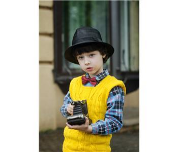 Boy Cotton Sleeveless With Shirt