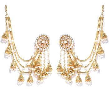 Pearl Jhumkis Earrings