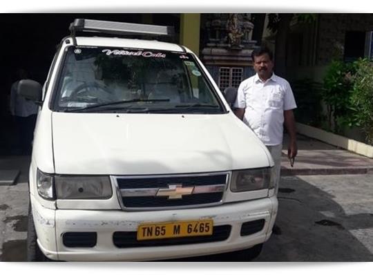 TN 65 M 6465 Chevrolet Tavera