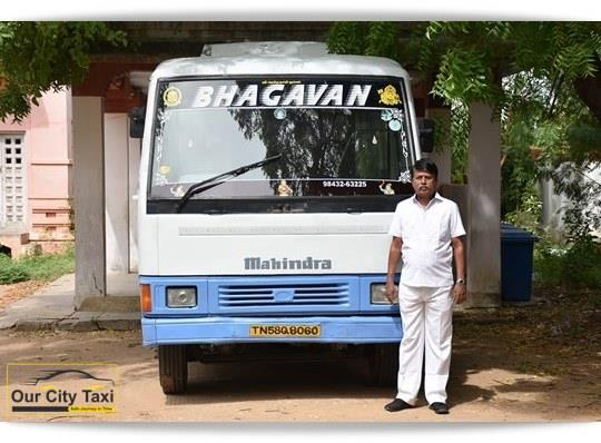 TN 58 Q 8060 Mahindra Tourister