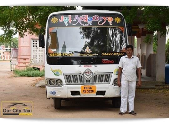 TN 58 AY 3520 Mahindra Tourister