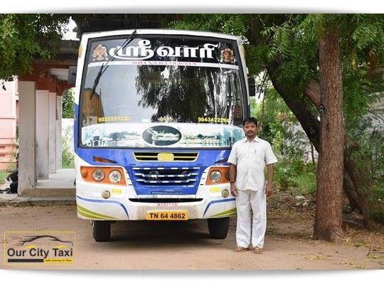 TN 64 4862 TATA 407 Maxi Cab