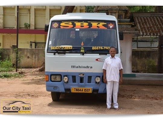 TN 64 A 1537 Mahindra Tourister