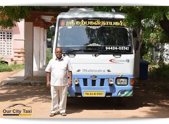 TN 64 B 5163 Mahindra Tourister