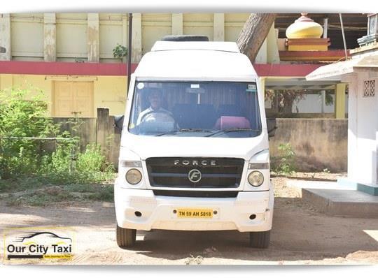 TN 59 AH 5818 Tempo Traveller