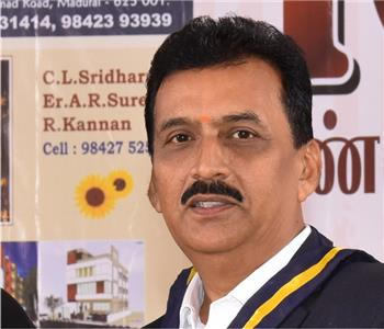 """<p style=""""text-align: center;""""><span style=""""color: #34495e;"""">S K R Ramesh Past President</span></p>"""